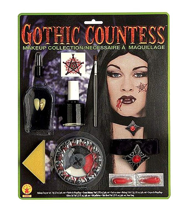 Deluxe Gothic Countess Costume Makeup Set