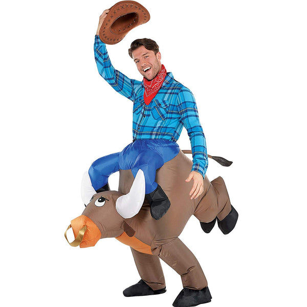 Adult Inflatable Bull Ride On Costume
