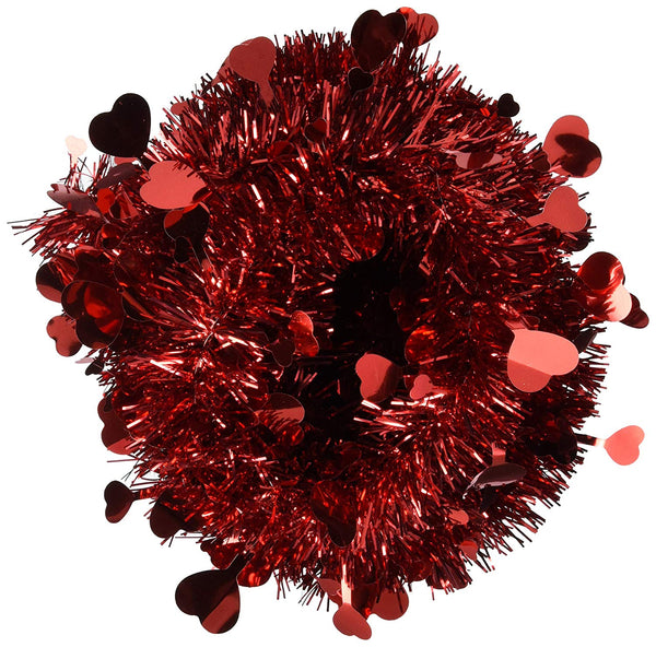 "Amscan 220232 Valentine's Day Decors Item, 25"", Red"