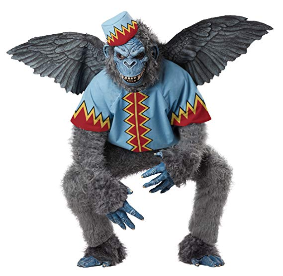 California Costumes Men's Evil Winged Monkey Adult