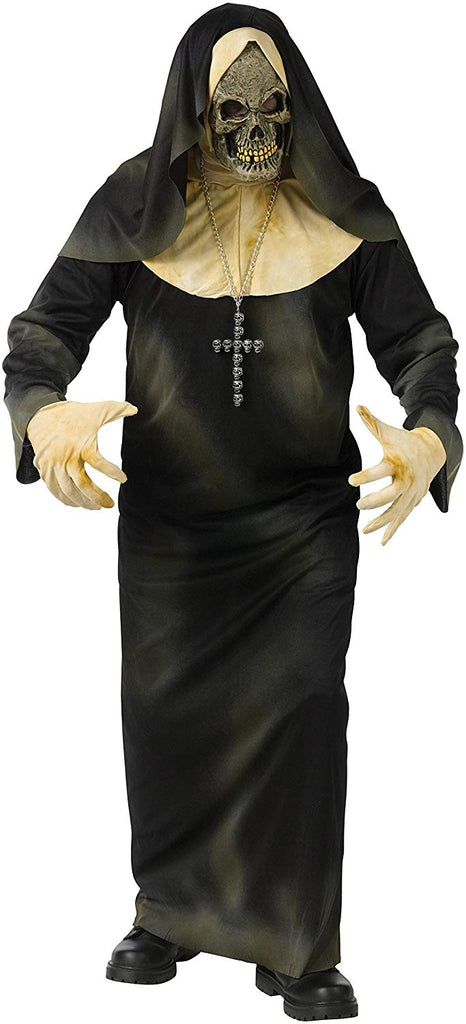 Fun World Sinister Sister Adult's Evil Nun Party Costume, One Size