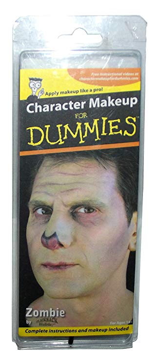 Character Makeup for Dummies-Zombie