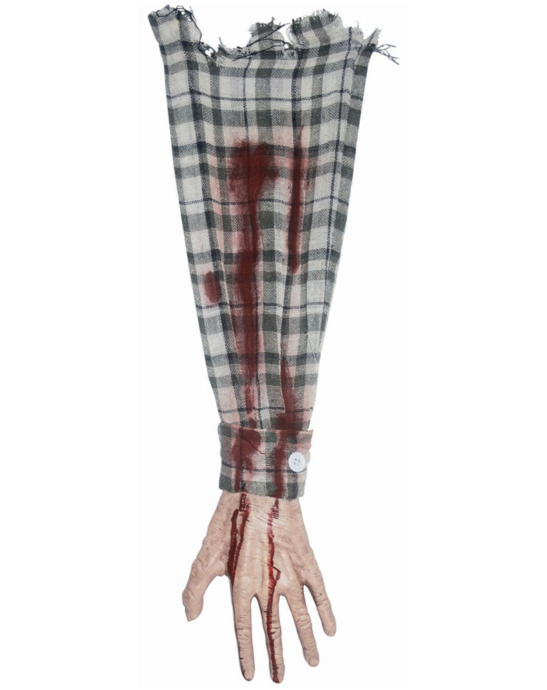 Bloody Arm with Cloth Halloween Decoration-1 piece
