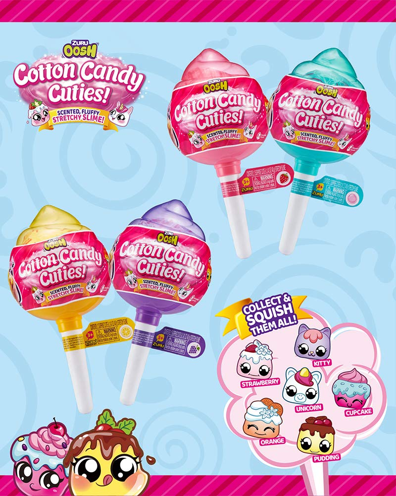 Oosh Slime - Series 1 - Cotton Candy Cuties Pop SM