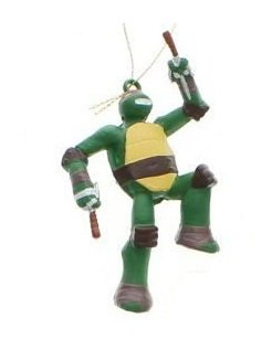 "5"" Teenage Mutant Ninja Turtles Raphael Christmas Figure Ornament"