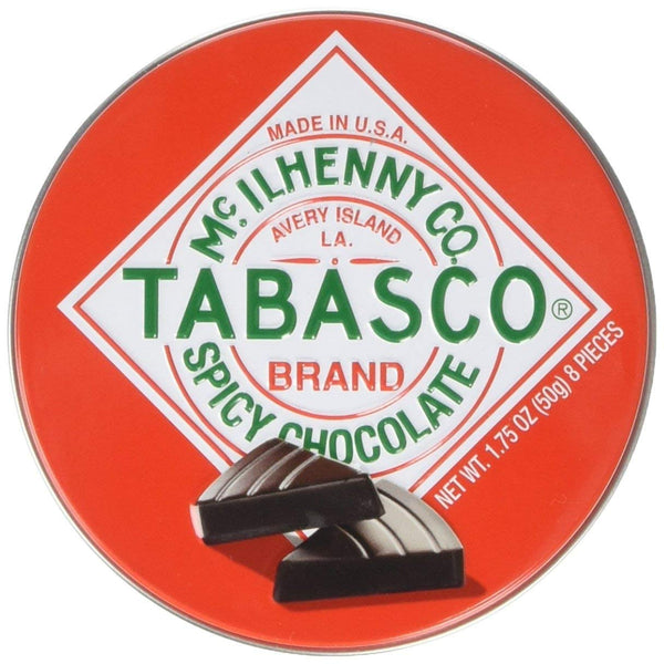 McIlhenny Co Tabasco Brand Spicy Chocolate Wedges