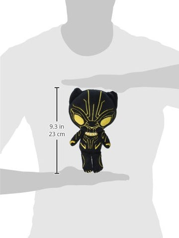 Funko Hero Plushies: Black Panther - Gold Glow Black Panther Collectible Plush