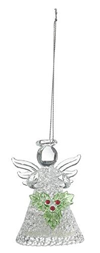 Ganz EX29592 Light Up Angel Ornament, Glass