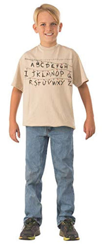 Rubie's Children's Stranger Things Alphabet Shirt