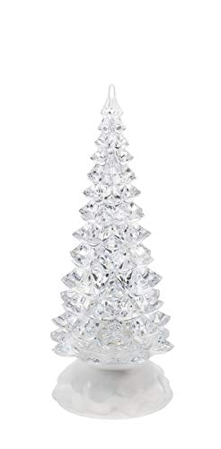 Ganz Light Up Christmas Light Up Swirling Glitter Tree Small