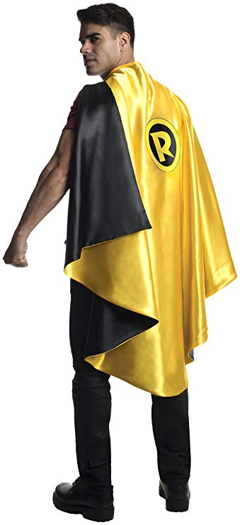 Rubie's Men's DC Superheroes Deluxe Robin Cape, Multi, One Size