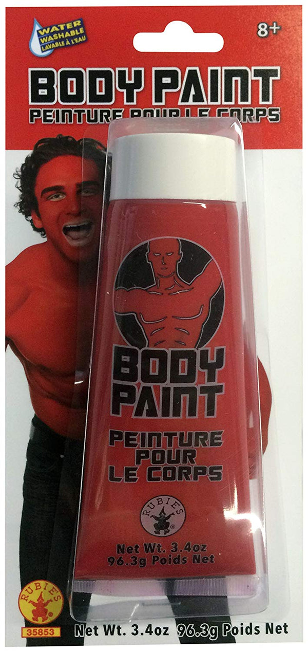 Rubie's Men's Body Paint, Red, One Size