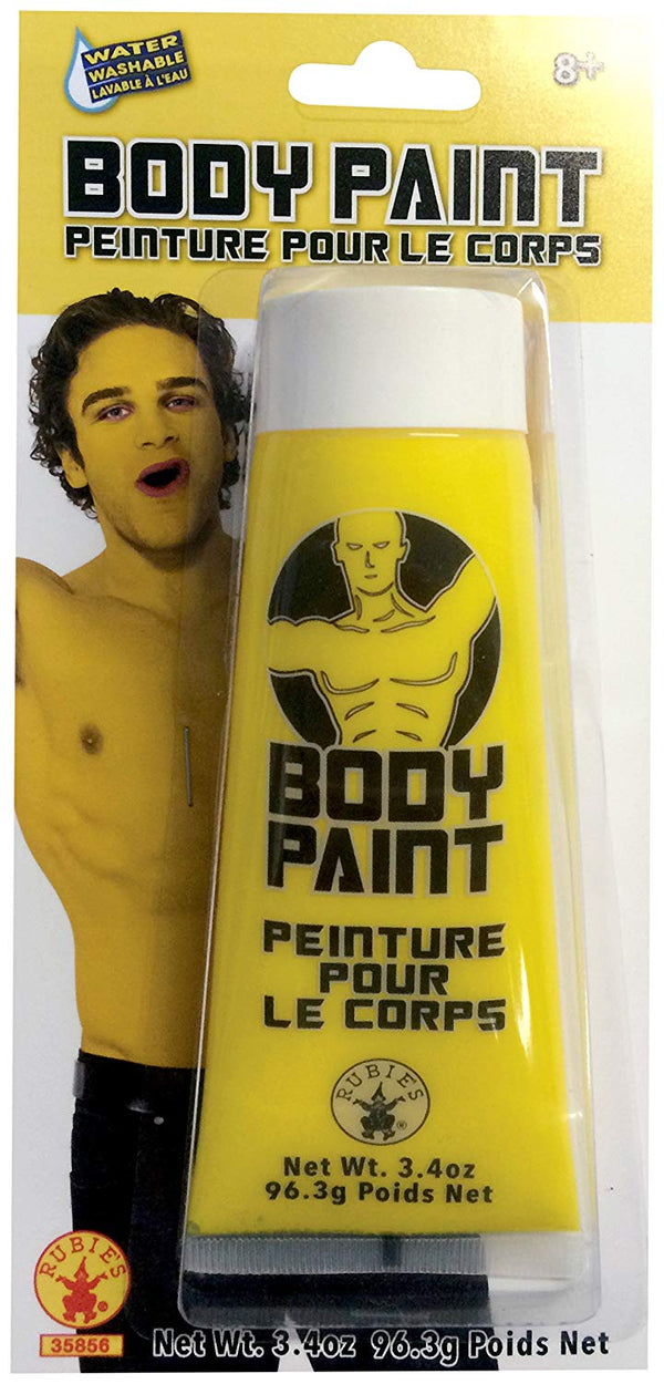 Rubie's Men's Body Paint, Yellow, One Size