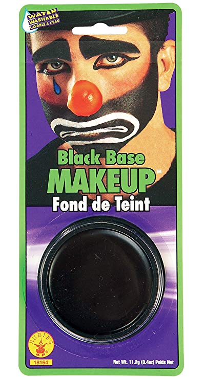 Rubie's Costume Co Grease Paint Makeup-Black Costume