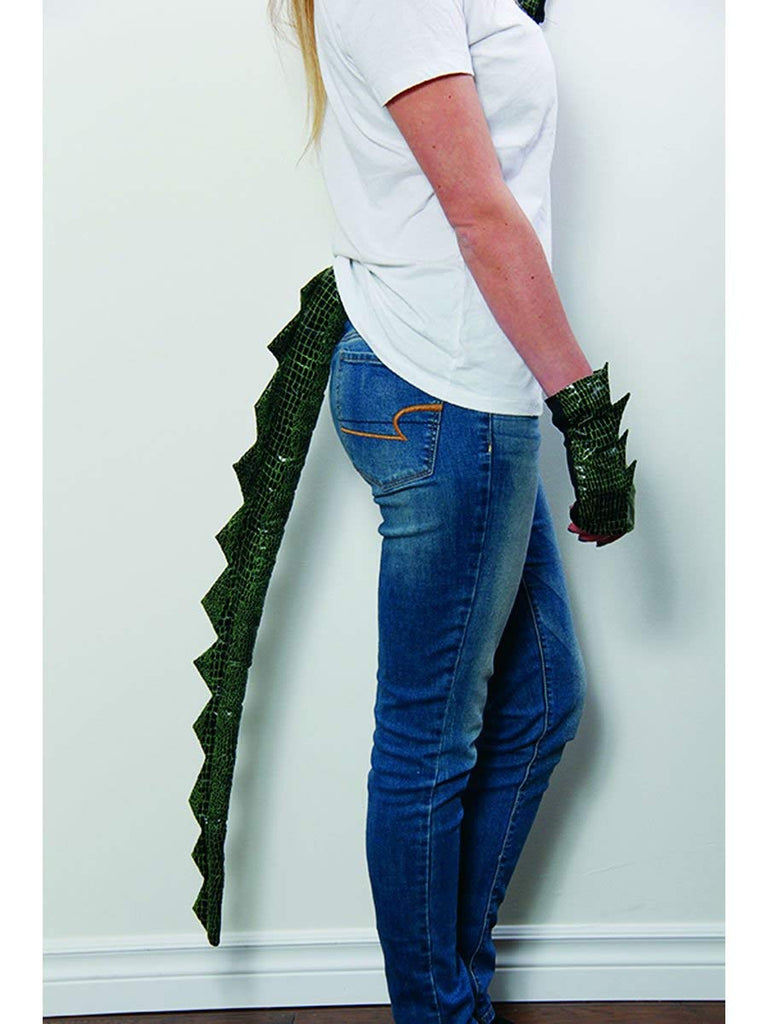 HMS Clip-on Dragon Tail Costume Accessory