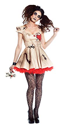 Seeing Red VooDoo Magic Womens Costume
