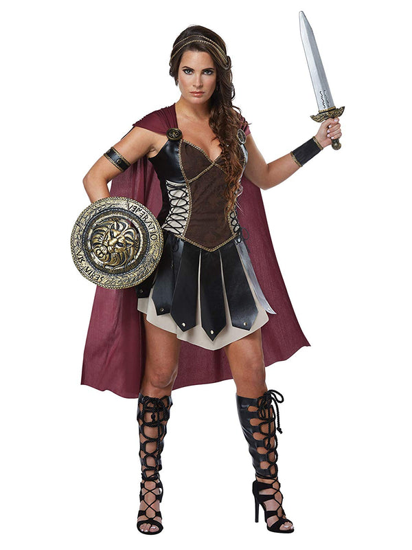 California Costumes Glorious Gladiator Women's Gladiator Party Costume