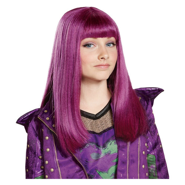 Disguise Inc Disney Descendants 2 Children's Costume Wig, One Size