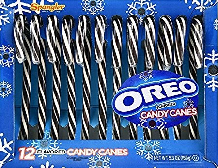 Oreo Flavored Candy 12 pc Canes