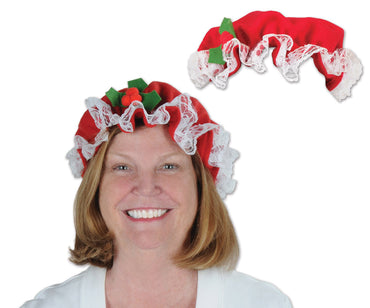 Beistle Everyday Mrs. Claus Women's Costume Hat, One Size