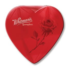 Whitman's Red Cello Sampler Heart, 1.6 oz.