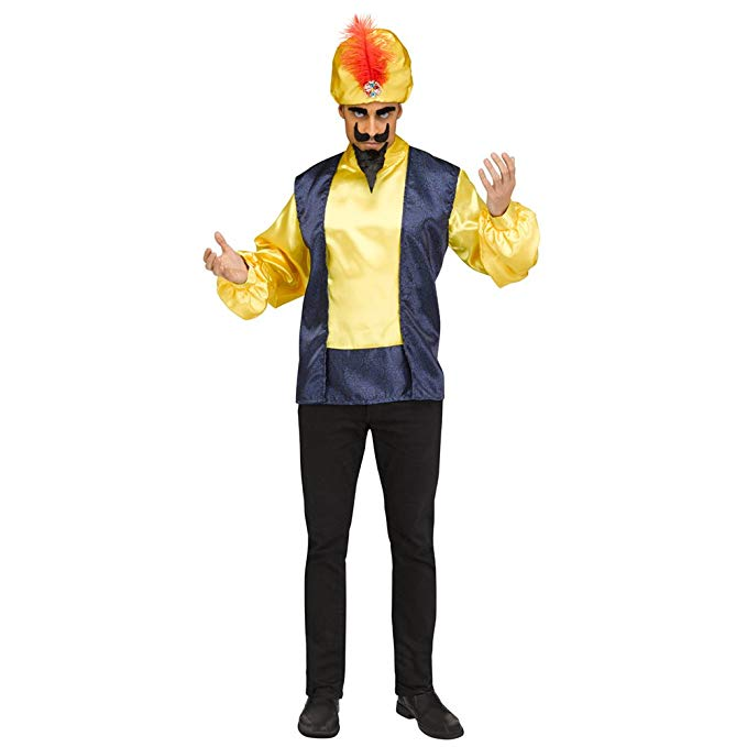 Fun World Men's Licensed Zoltar Speaks, Multi, STD. up to 6'/200 lbs
