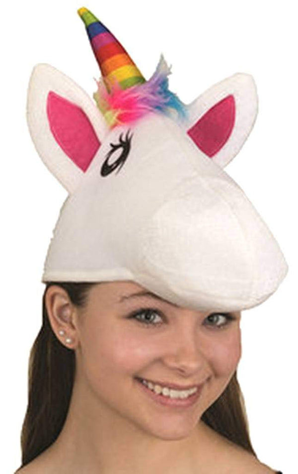 Jacobson Hat Company Rainbow Unicorn Costume Hat, One Size