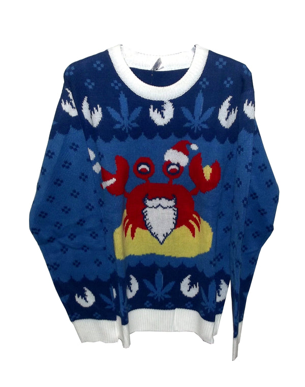 FunQi Gifts Sandy Claws Adult's Novelty Christmas Ugly Sweater