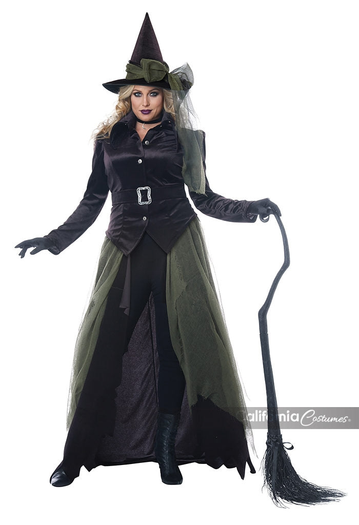 California Costumes Gothic Witch Plus Womens Costume