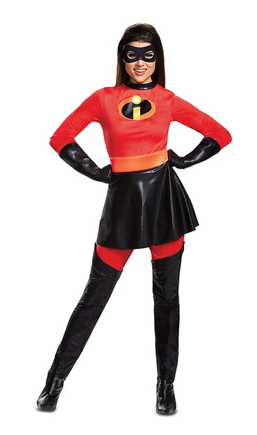 Disguise Inc Disney Pixar incredibles 2 Mrs. Incredible Women's Deluxe Party Costume
