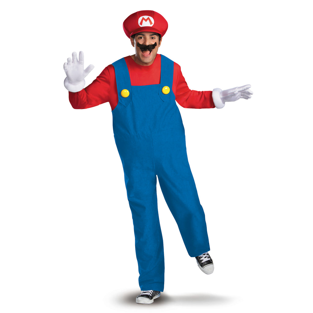 Disguise Inc Super Mario Deluxe Mario Men's Party Costume