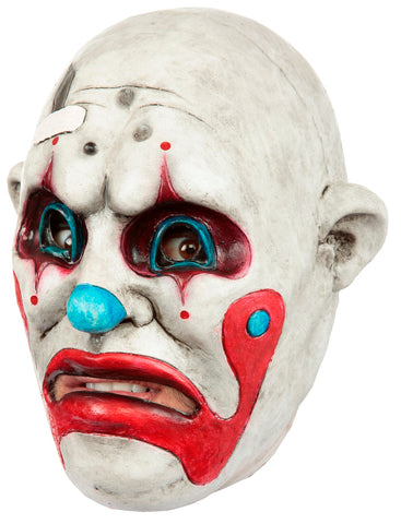 Ghoulish Productions Scary Clown Adult's Costume Party Mask, One Size