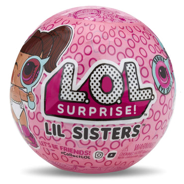 L.O.L. Surprise! LiL Sisters Eye Spy Series Doll, 1 count