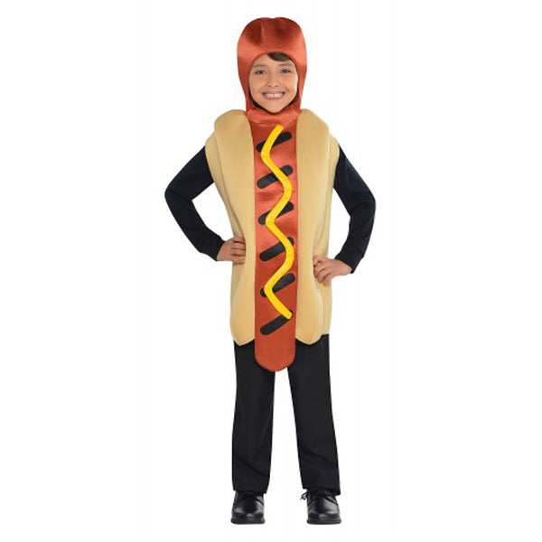 Amscan CostumesUSA Hot Diggety Dog Children's Hot Dog Costume, One Size