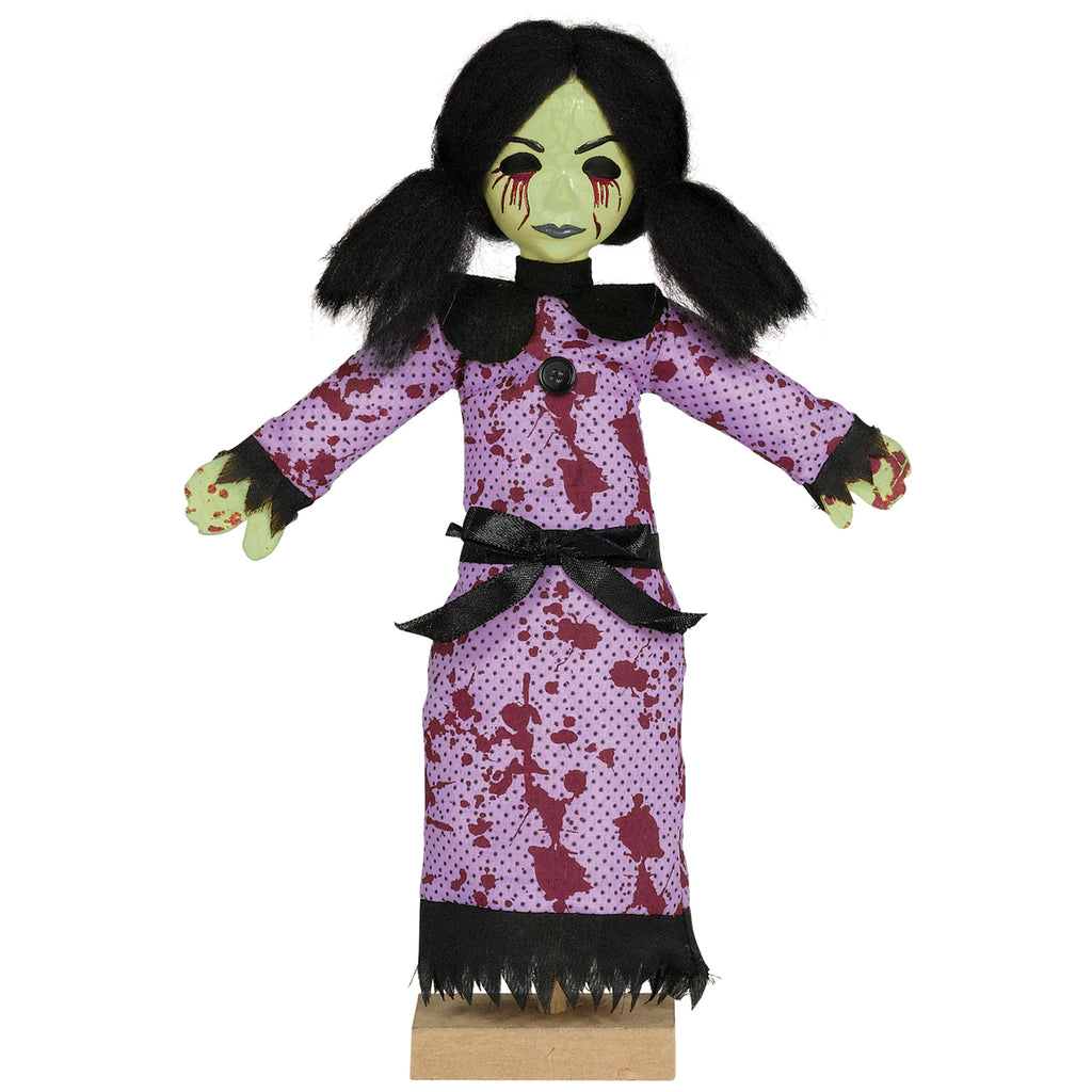 Amscan Creepy Doll Girl Standing Halloween Decoration