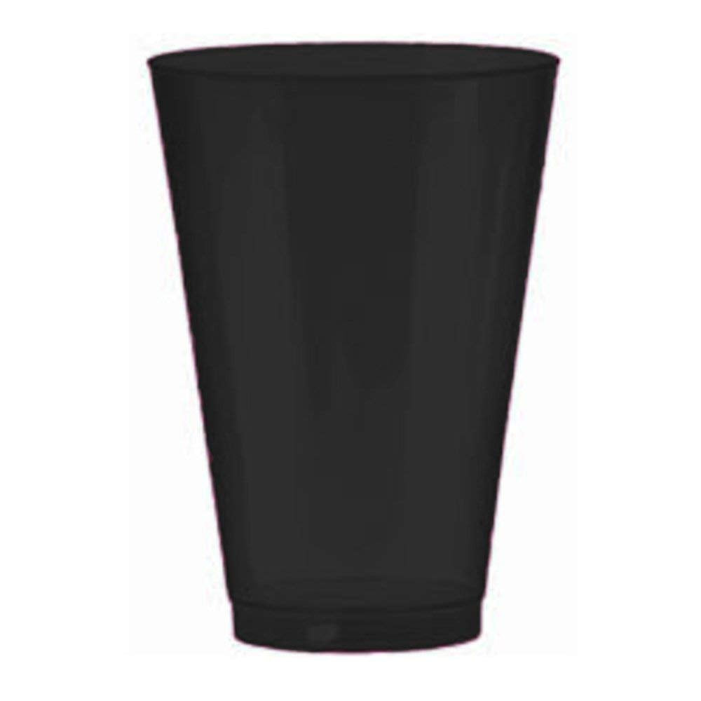 Big Party Pack Plastic Cups 10-Ounces 72/Pkg, Black