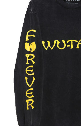 Wu Tang Clan Forever Mens Black Long Sleeve