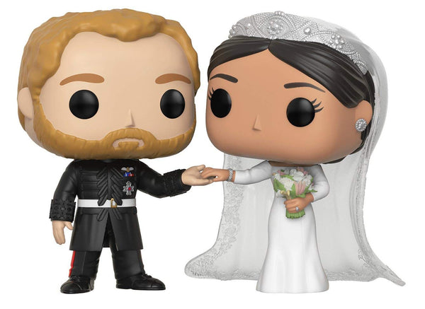 Funko Pop! Royals The Duke and Duchess of Sussex Vinyl Figure 2 pack