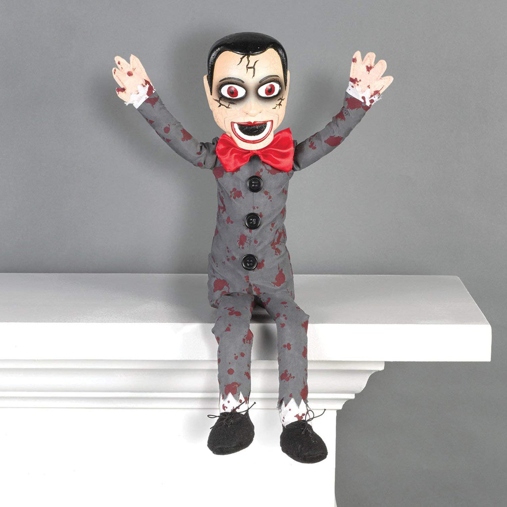Amscan Ventriloquist Dummy Halloween Shelf Sitter Decoration