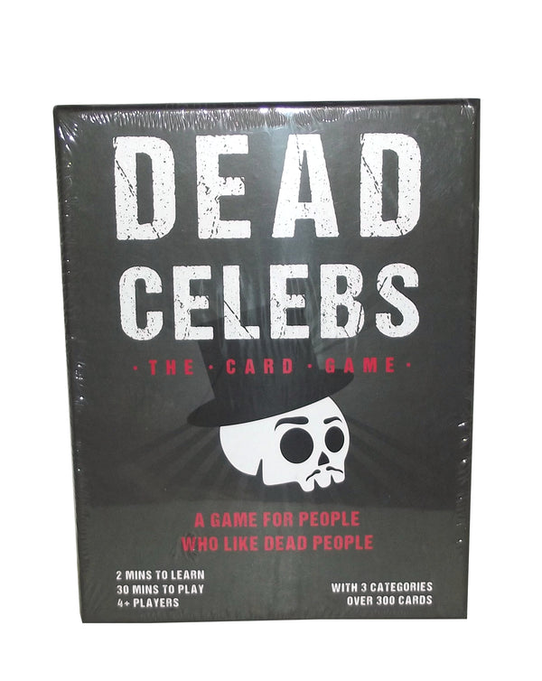 Dead Celebs Card Party Game