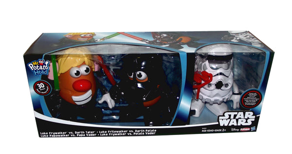 Disney Star Wars Luke Frywalker Vs. Darth Tater Mr. Potato Head, 2 count with Additional Spudtrooper Costume