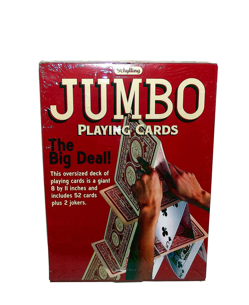 Schylling Jumbo Playing Card Deck