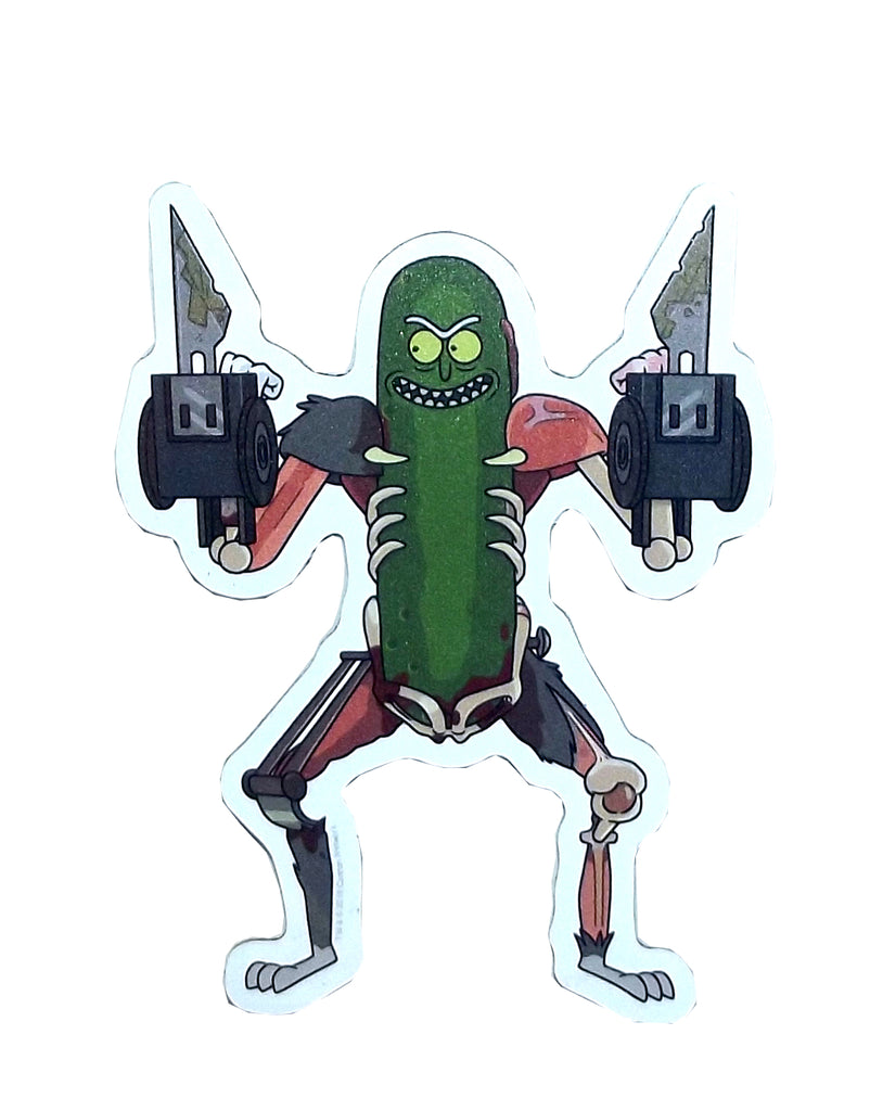 Hot Properties Rick and Morty Car Magnet