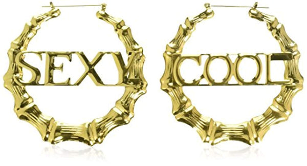 Amscan Hip Hop Bamboo Earrings - Party Accessory
