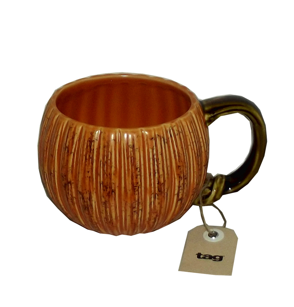 tag Harvest Pumpkin Mug, 20 ounces