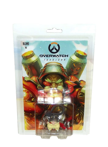 Blizzard Entertainment Overwatch Chibi Backpack Hanger with Comic Book Set