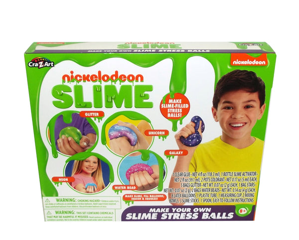 Cra-Z-Art Nickelodeon Slime Make Your Own Slime Stress Ball Kit