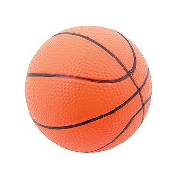 5 Inch Vinyl Basketballs, 12 Count