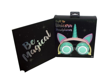 Gabba Goods Light Up Unicorn Headphones