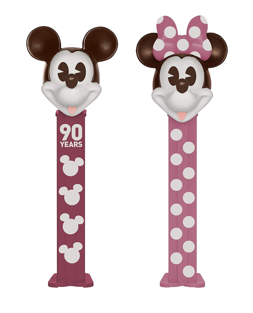 Disney Mickey and Minnie Mouse 90th Anniversary PEZ Dispenser Gift Box